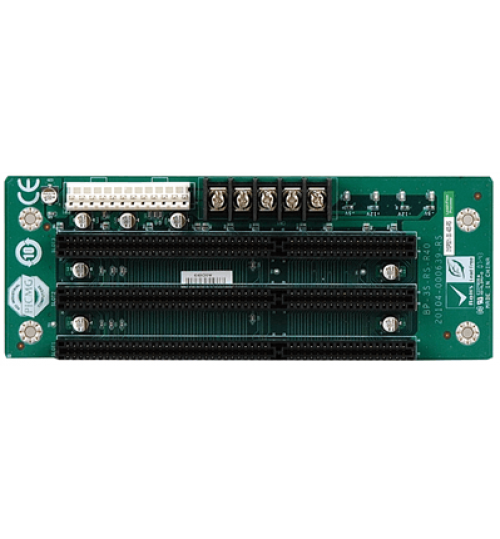 BP-3S-RS 3-slot backplane with three ISA slots