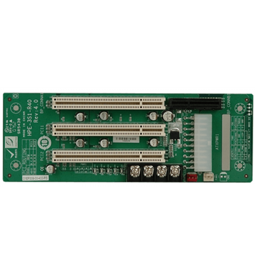 HPE-5S2 5-slot backplane with three PCI slots and one PCIe x4 slot