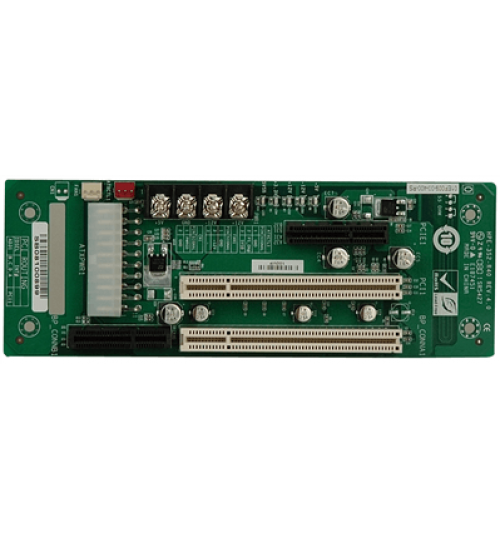 HPE-3S2 3-slot backplane with one PCI slot and one PCIe x4 slot