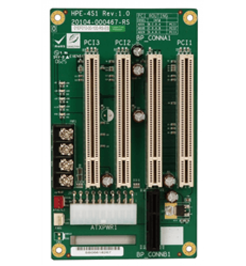 HPE-4S1 4-slot backplane with three PCI slots