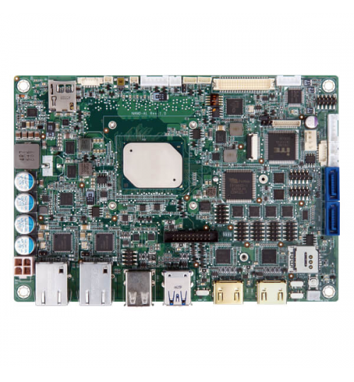 NANO-AL EPIC SBC supports 14nm Intel® Pentium®/Celeron®/Atom™ on-board SoC