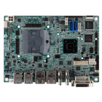 NANO-HM650 EPIC SBC Supports Socket G2 for 2nd Generation Intel® Core™ i7/i5/i3 and Celeron® CPU