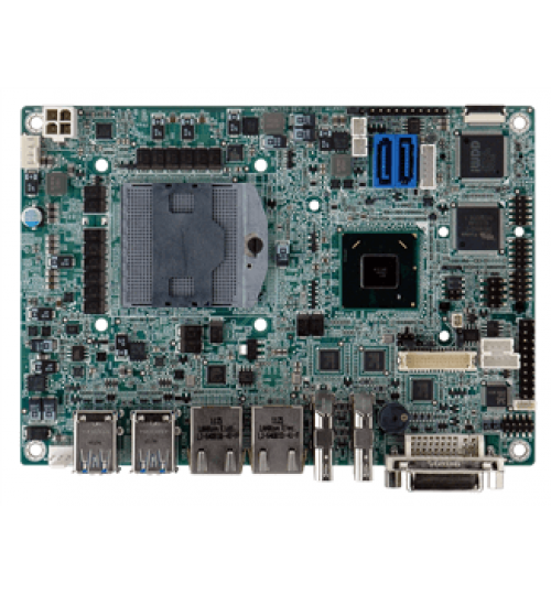 NANO-QM770 EPIC SBC Supports Socket G2 for Intel® 22nm Mobile CPU,