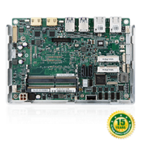 NANO-ULT3 EPIC SBC supports Intel® 14nm 6th Generarion Mobile Core™ i7/i5/i3 and Celeron® on-board Processor (ULT)