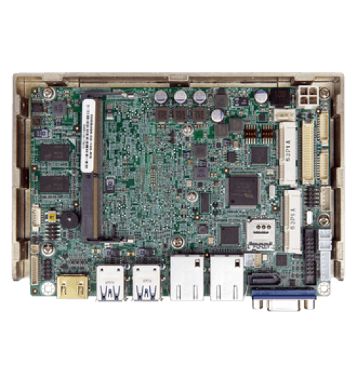 "WAFER-ULT4 3.5"" SBC supports Intel® 7th Generation ULT Processor with DDR4 SO-DIMM/On-board Memory Support"