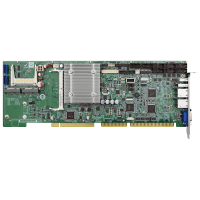 WSB-BT Full-size PICMG 1.0 CPU Card supports Intel® Celeron™ on-board SoC with VGA, iDP, Dual Intel® PCIe GbE, USB 3.0, PCIe Mini, SATA, mSATA, COM, CF, Audio and RoHS