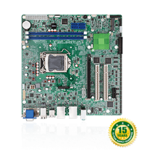 IMBA-C2360-i2 ATX motherboard supports 14nm LGA1151 Intel® Xeon® E3 v5 series, Core™ i3, Pentium®, Celeron® processor per Intel® C236