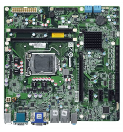 IMB-H610A/IMB-H610B microATX motherboard supports LGA1155 Intel® Core™ i7/i5/i3/Pentium®/Celeron® CPU with Intel® H61