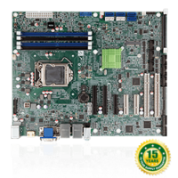 IMBA-Q170-i2 ATX motherboard supports 14nm LGA1151 IntelR CPU IntelR Q170,