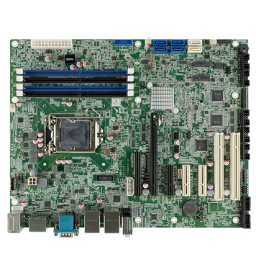 IMBA-Q370 ATX motherboard supports 14nm LGA1151 Intel® 8th Generation Core™ i7/i5/i3, Celeron® and Pemtium® processor, DDR4, triple independent displays, dual GbE LAN, M.2, USB 3.1, SATA 6Gb/s, HD Audio and RoHS