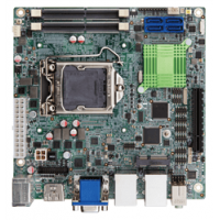 KINO-AQ170 Mini-ITX SBC supports LGA 1151 Intel® Core™ i7/i5/i3, Pentium® or Celeron® CPU with Intel® Q170