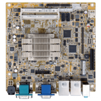 KINO-DBT Mini-ITX SBC supports 22nm Intel® Atom™ or Celeron® on-board SoC,