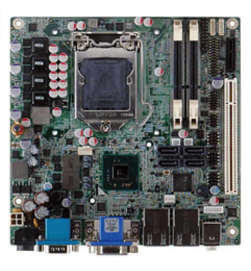 KINO-QM57A Mini-ITX SBC with Socket G1 for Intel® mobile Core™ i7/i5/i3/Celeron® CPU