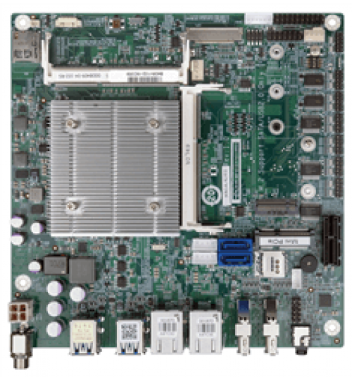 tKINO-AL Thin Mini-ITX SBC supports Intel® 14nm Atom™, Pentium® or Celeron® on-board SoC with DP++