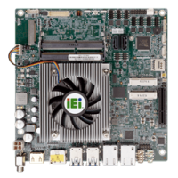 tKINO-ULT3 Thin Mini-ITX SBC supports Intel® Skylake-U Processor