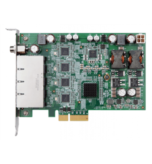 IPCIE-4POE PCI Express Power over ethernet card